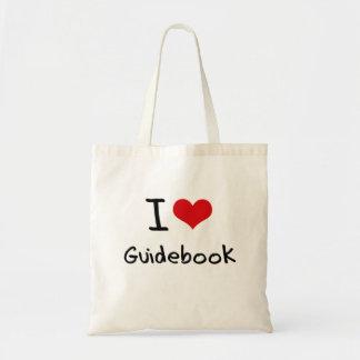 I Love Guidebook Budget Tote Bag