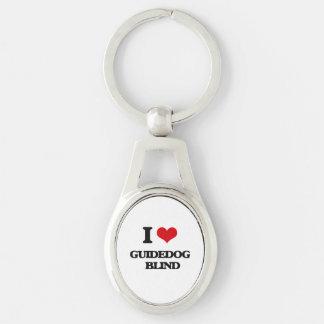 I love Guidedog   Blind Keychain