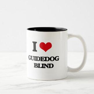 I love Guidedog   Blind Coffee Mugs