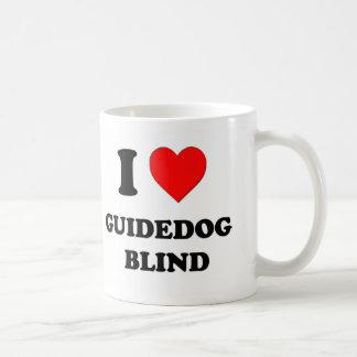 I Love Guidedog   Blind Mug