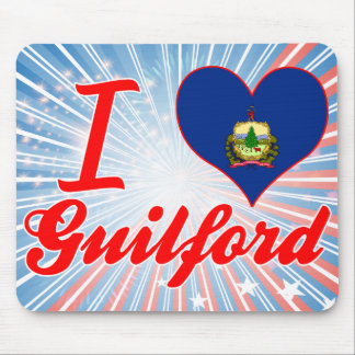 I Love Guilford, Vermont Mouse Pad