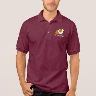 I Love Guinea Pigs! Polo Shirt