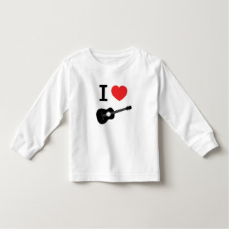 I love guitar toddler T-Shirt