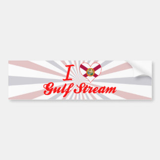I Love Gulf Stream, Florida Bumper Stickers