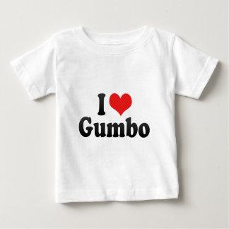 I Love Gumbo Baby T-Shirt