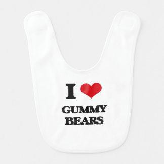 I love Gummy Bears Baby Bib