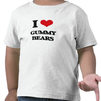 I love Gummy Bears Shirts