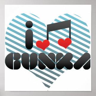 I Love Gunka Print