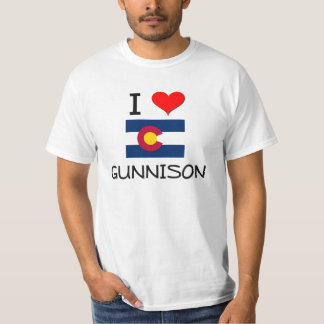 I Love GUNNISON Colorado T-shirts
