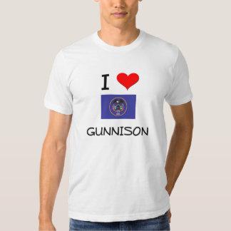 I Love Gunnison Utah Shirt