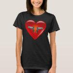 I love guns - 1911 .45/Heart T-Shirt