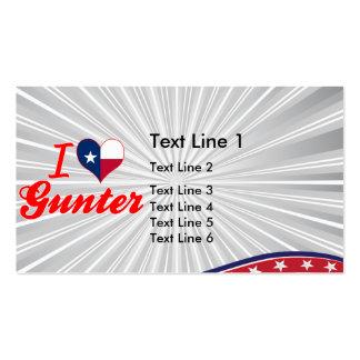 I Love Gunter, Texas Business Cards