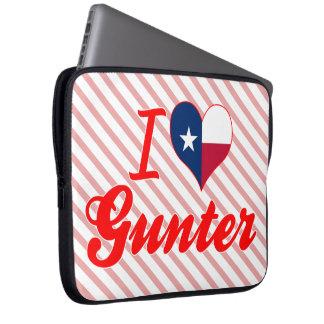 I Love Gunter, Texas Laptop Sleeves