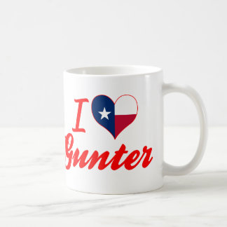 I Love Gunter, Texas Mugs