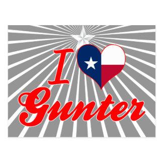 I Love Gunter, Texas Post Cards