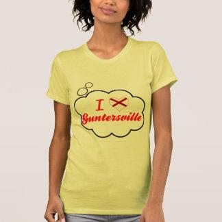 I Love Guntersville, Alabama Shirts