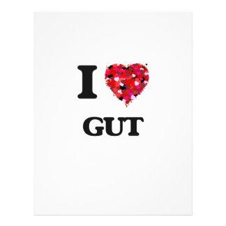 I Love Gut 21.5 Cm X 28 Cm Flyer