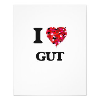 I Love Gut 11.5 Cm X 14 Cm Flyer