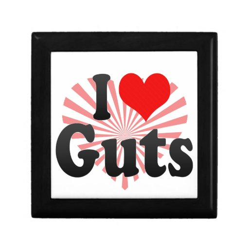 I love Guts Gift Box
