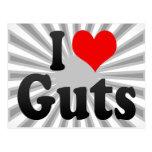 I love Guts Postcard