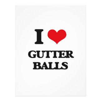 I love Gutter Balls 21.5 Cm X 28 Cm Flyer