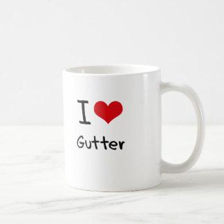 I Love Gutter Coffee Mugs