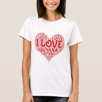 I Love Guyana Souvenir T-Shirt