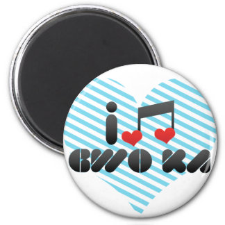 I Love Gwo Ka Fridge Magnets