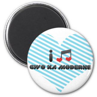 I Love Gwo Ka Moderne Fridge Magnets