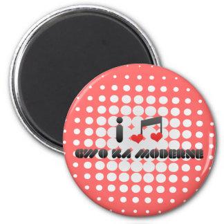 I Love Gwo Ka Moderne Refrigerator Magnets