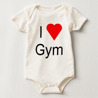 I love gym baby bodysuit