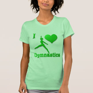 i love gymnastics #9 tank top
