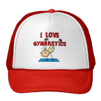 I Love Gymnastics Cap