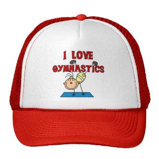 I Love Gymnastics Trucker Hats
