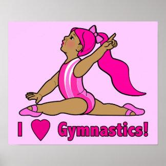 I Love Gymnastics! Poster