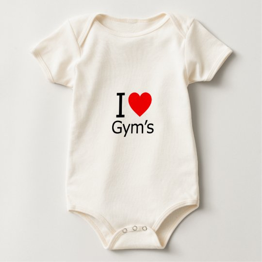 I Love Gym's Baby Bodysuit