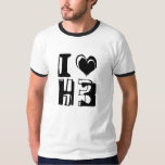 I Love H3 T Shirts