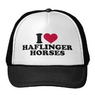 I love Haflinger horses Trucker Hat