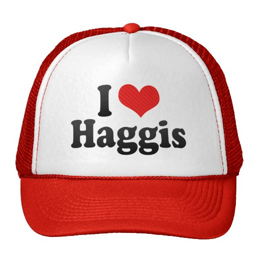I Love Haggis Hat
