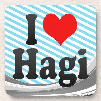 I Love Hagi Japan Coaster