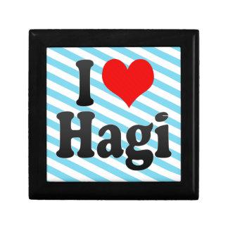 I Love Hagi Japan Keepsake Box