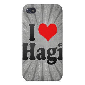 I Love Hagi Japan Cover For iPhone 4