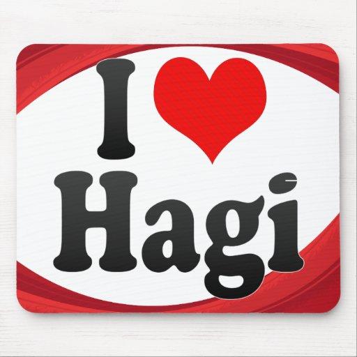 I Love Hagi, Japan Mouse Pad
