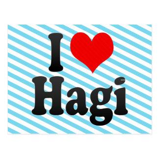 I Love Hagi Japan Post Cards