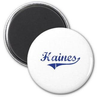 I Love Haines Alaska 6 Cm Round Magnet