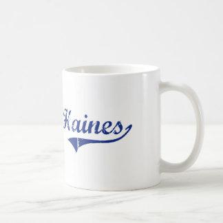 I Love Haines Alaska Basic White Mug