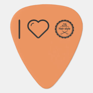 I Love Hair Competents Plectrum