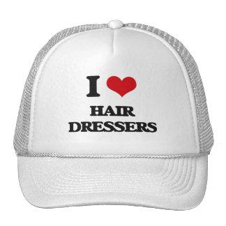 I love Hair Dressers Trucker Hat