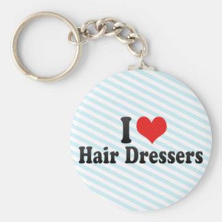 I Love Hair Dressers Keychains