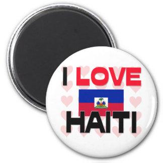I Love Haiti Magnet